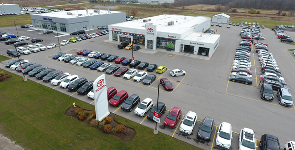 Strickland's Stratford Toyota Location