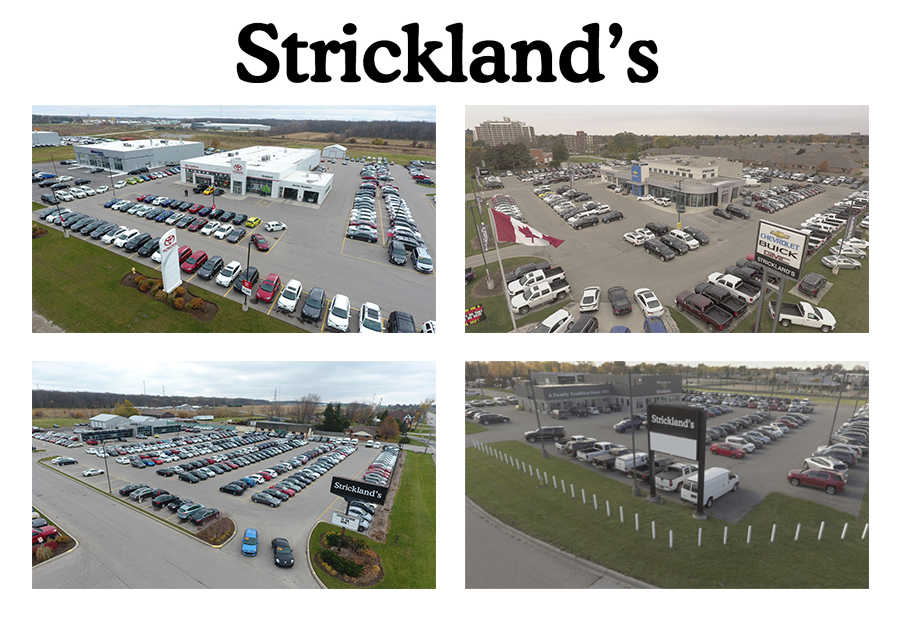 Strickland's Locations